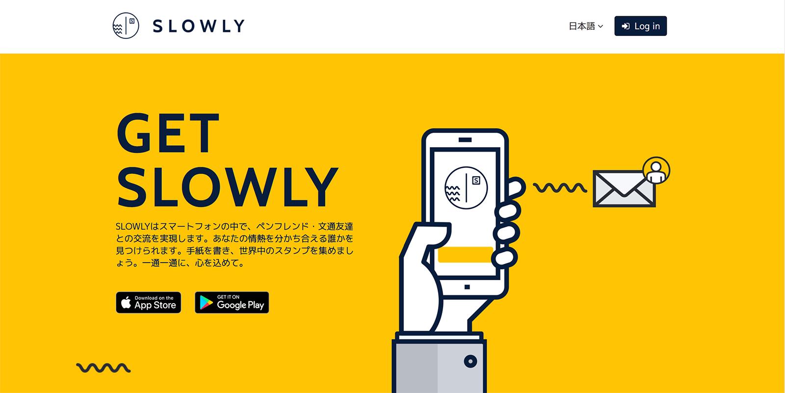 『SLOWLY』のTOPページ